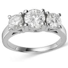 3 engagement ring 3 engagement rings for less overstock