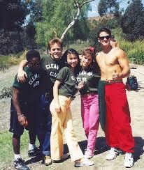 bts cast photo original power rangers 1992 1993