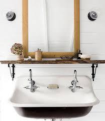 shelf above bathroom sink 8 storage ideas for bathrooms with floating sinks hunker