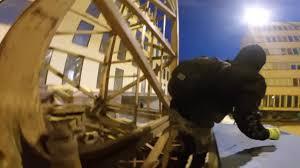 old lady calls police crane escape youtube