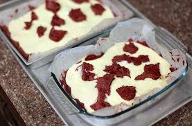 swirled red velvet cheesecake brownies casa veneracion
