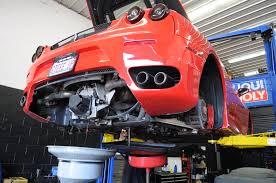 lexus v8 gearbox oil ferrari service f430 oil change transmission chicago naperville 3