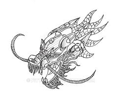 chinese dragon head drawings thewealthbuilding