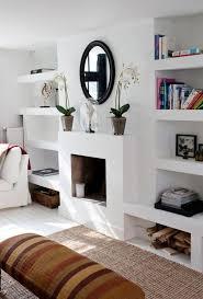 Built In Bookshelves Around Tv by Best 20 Bookshelves Around Fireplace Ideas On Pinterest Shelves