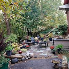 outdoor courtyard easy and inexpensive ideas for outdoor rooms