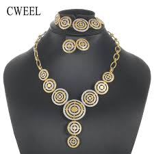 african jewelry necklace set images Cweel jewelry sets for women luxury african jewelry set party jpg