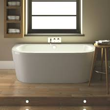 hudson reed ludlow back to wall bath with front panel u0026 legset