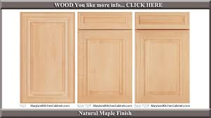 Styles Of Kitchen Cabinet Doors 720 Maple Cabinet Door Styles And Finishes Maryland Kitchen