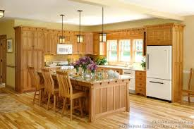 mission oak kitchen cabinets mission style kitchens designs and photos