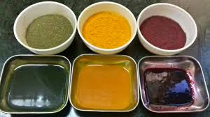 homemade herbal food color natural food colour food color