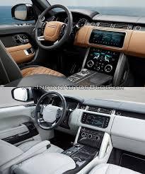 land rover range rover interior 2018 range rover vs 2013 range rover interior indian autos blog