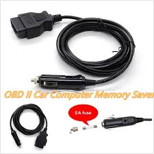 3 meters obd2 car ecu memory saver emergency power supply cable