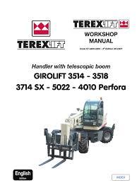 terex 5022 service manual global en pump welding