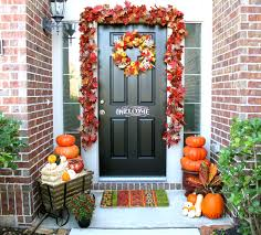fall decorations for outside welcome to our fall front porch decorchick