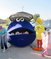 Halloween Costumes Car Trunk Treat Decorating Ideas