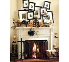 fireplace mantel decorations for the holidays decorative brick
