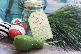 jangles diy pickle ornament