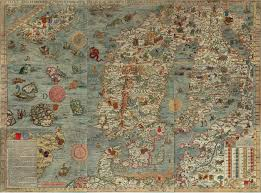 Map Of Medieval Europe Illuminated Map Of Early Medieval Scandinavia Author Hugh B Long