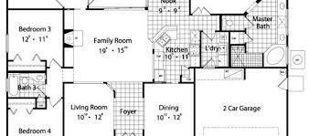 4 bedroom 3 bath house plans 4 bedroom 3 bath house plans home design ideas