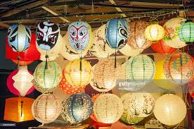 paper lanterns for sale in chinatown singapore stock photo getty