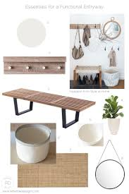 Entryway Inspiration 5 Essentials For A Functional Entryway Even If It U0027s Small