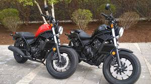 2017 honda rebel 300 and 500 test drive