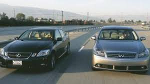 lexus gs300 vs bmw 5 series 2006 lexus gs 430 vs 2006 infiniti m45 sport luxo grudge match