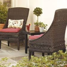Wicker Patio Dining Chairs Modern Outdoor Dining Chairs Outdoorlivingdecor