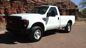 Ford F250 Work Truck - 2008 ford f250 regular cab 4x4 xl pickup diesel tate u0027s trucks center