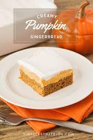 Easy To Make Halloween Cakes Creamy Pumpkin Gingerbread