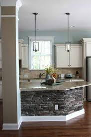 backsplash stone island kitchen best kitchen island pillar ideas