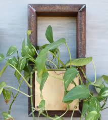 recycled steel wall planter frame home garden u0026 patio iron and