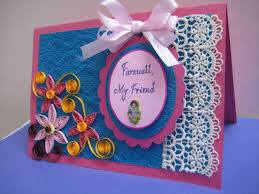Invitation Cards Handmade - handmade farewell card it s so beautiful cards