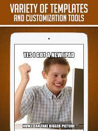 Meme Custom - funny insta meme generator make custom memes with lol pics troll