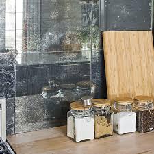 mirror tile backsplash kitchen mirror backsplash kitchen contemporary with glass cabinet doors