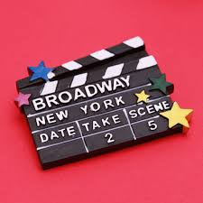 Nyc Wedding Favors by New York Broadway Clapboard Magnet New York Wedding Favors