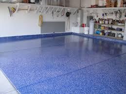 blue epoxy floor paint a concrete floor covered with epoxy floor