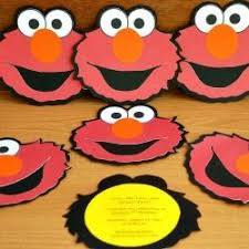 elmo birthday invitations bday party elmo