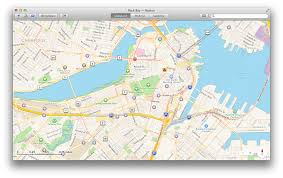 Back Bay Boston Map by Get To Know Os X Mavericks Maps Macworld