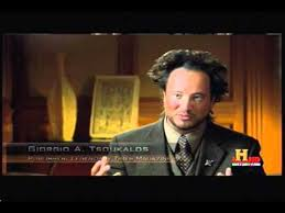 Giorgio Tsoukalos Meme - giorgio tsoukalos bad fake tan and hair youtube