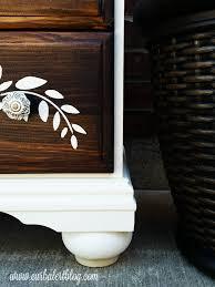 themed dresser curb alert stenciled dresser for themed furniture makeover day