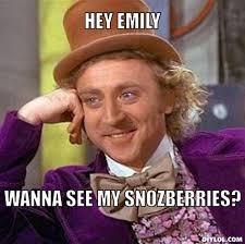 Emily Meme - resized creepy willy wonka meme generator hey emily wanna see my