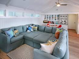 L Shaped Sectional Sleeper Sofa by L Shaped Gray Canvas Sectional Sofa With Track Armrest Of Gorgeous