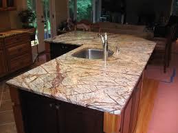 Marble Kitchen Countertops Es Countertops Marble Rainforest Brown Kitchen Countertop