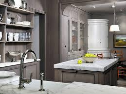 grey and green kitchen barbara howard beautiful soft gray kitchen design with gray shaker