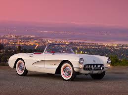 1957 chevrolet corvette convertible 1957 chevrolet corvette convertible white and silver 3 4 front