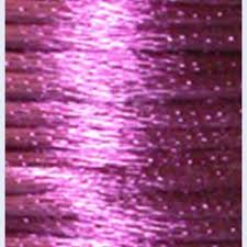 rattail cord 1mm satin rayon rattail cord mauve by the yard