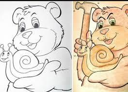 27 innocent images children u0027s coloring books transformed
