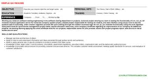 Sample Qa Resumes by Qa Resumes U0026 Cover Letters