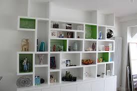 Modern White Bookcases Open Wall Shelving Shelves Ideas